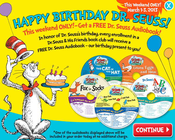 Happy Birthday Dr.Seuss Free Audiobook