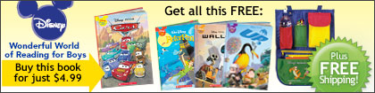 Disney Wonderful World of Reading for Boys