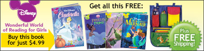 Disney Wonderful World of Reading for Girls
