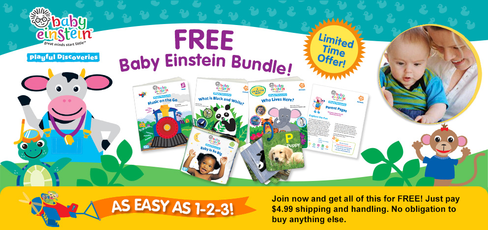 FREE Baby Einstein Playful Dis...